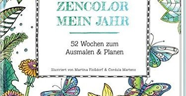 zencolor - Zencolor Mein Jahr (My Year)  52 Week Journal
