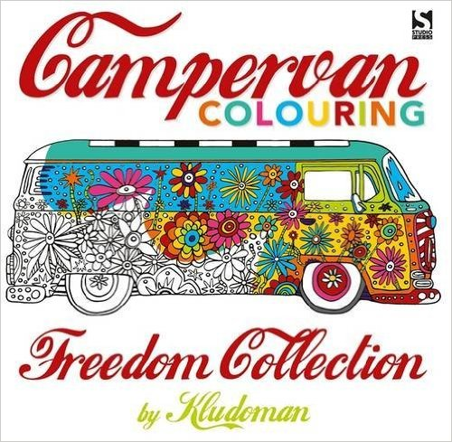 CampervanColouringBook - Campervan Colouring - Freedom Collection Review