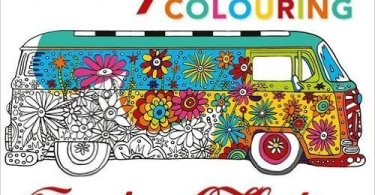 CampervanColouringBook - A Million Dogs - Coloring Book Review