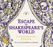 EscapeToShakespearesWorld - Thomas Kinkade Painter of Light - Coloring Book Review