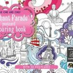 Elephant Parade Postcard Colouring Book