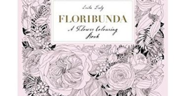 floribunda - Chicken Seeds - Adult Coloring Book