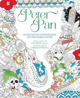 PeterPan - Peter Pan - An Enchanting Coloring Book Review - Fabiana Attansio