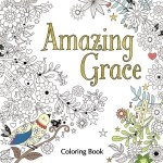 amazinggrace 1 - Garden Tea Party - A Calming Coloring Book