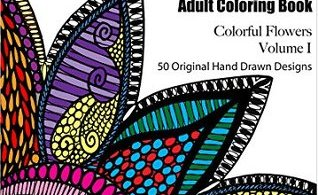 colorit cololrfulflowers - The Story of Pandora - A Fantasy Colouring Book