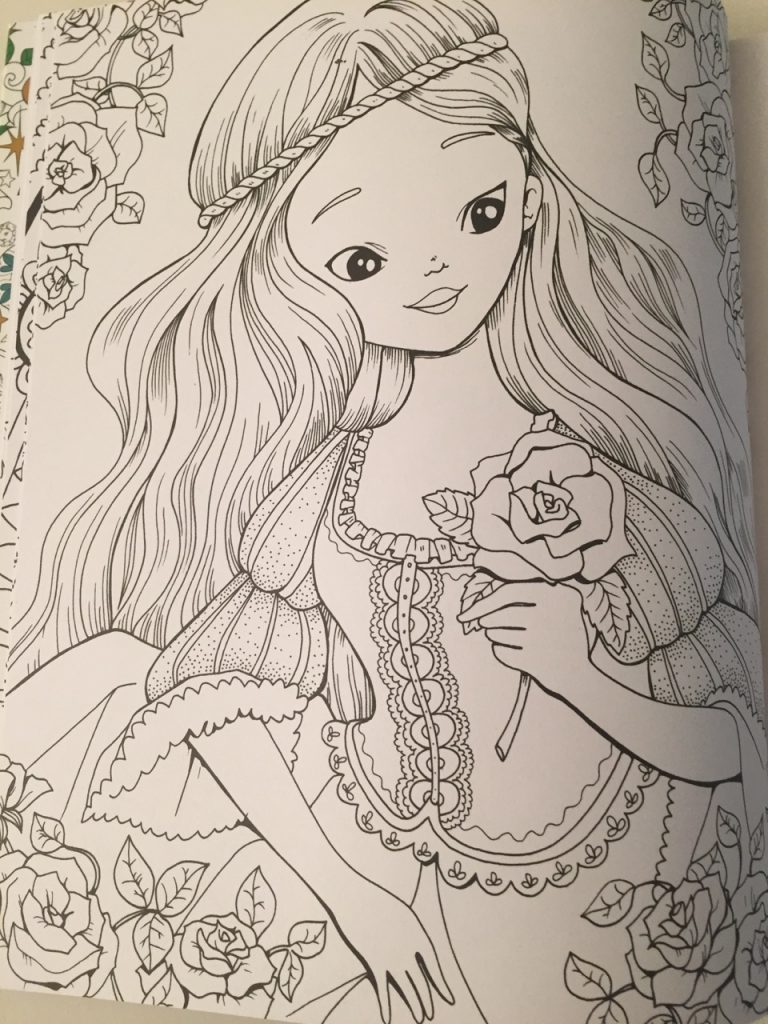 snow white coloring book by fabiana attanasio coloring queen