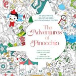 pinnochio - Where the Wildflowers Grow Coloring Book