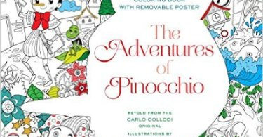 pinnochio - Desert Wonderland - A Serene Coloring Retreat Coloring Book