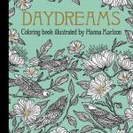 Daydreams coloringbook - Dagdrommar - Hanna Karizon comes to the USA and beyond!