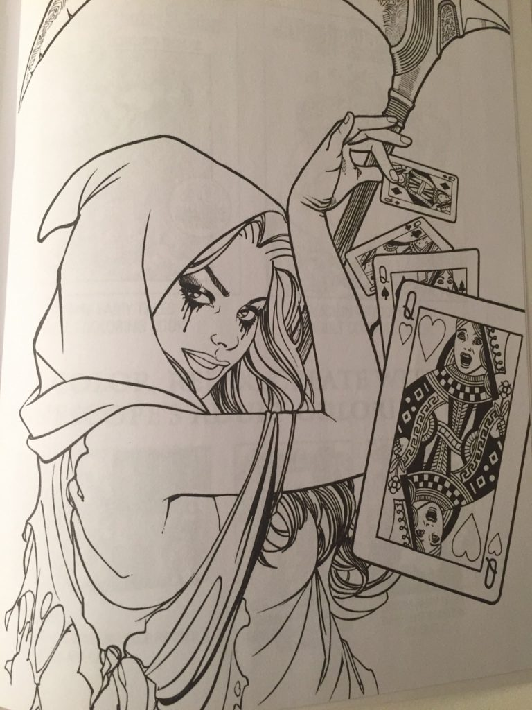 Grimm fairy tale coloring pages