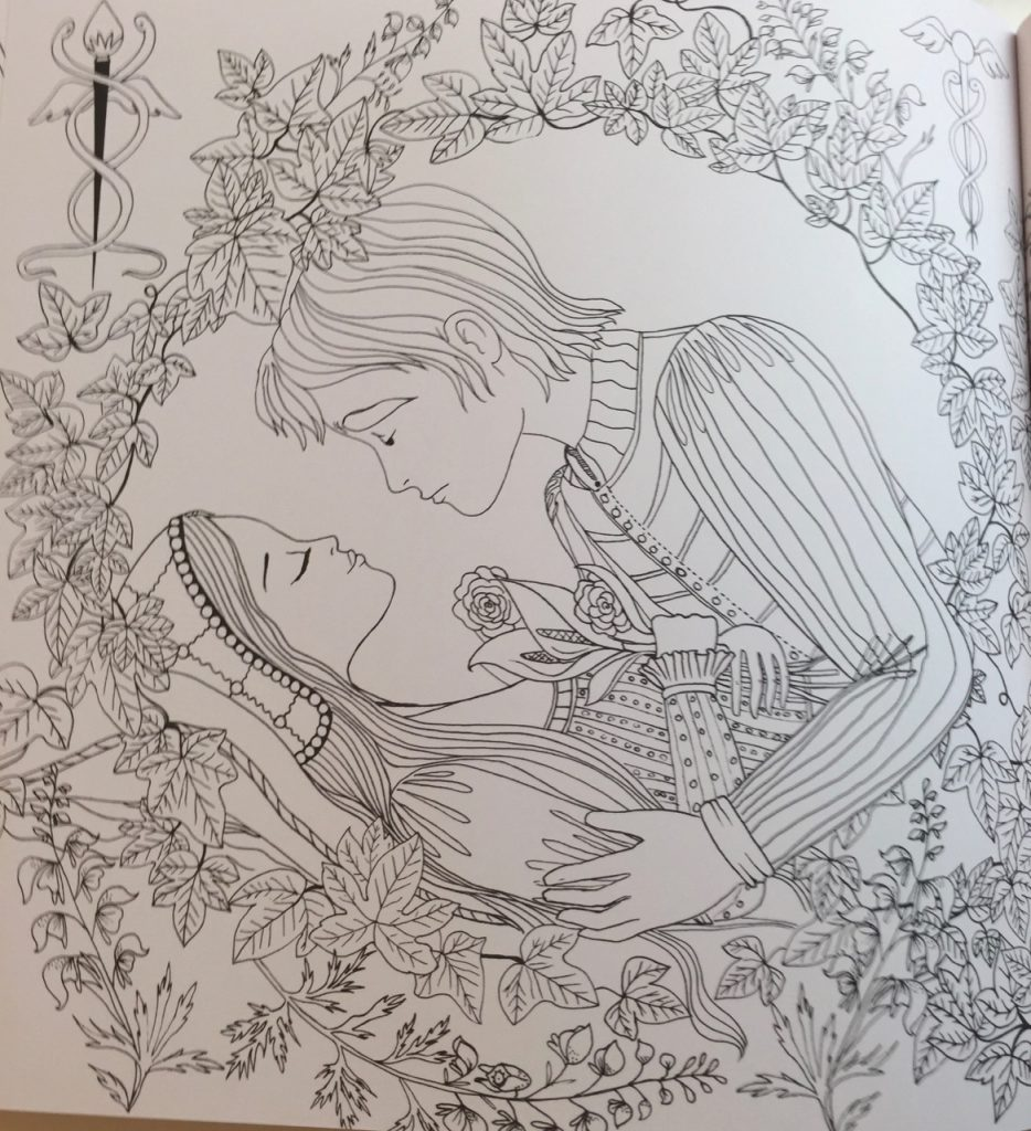 3344253314 romeo juliet a colouring classic review