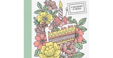 ingen vanlig dag  20 gratulationskort att farglagga - Ingen Vanlig Dag  (No Ordinary Day) - Emelie Lidehall Oberg
