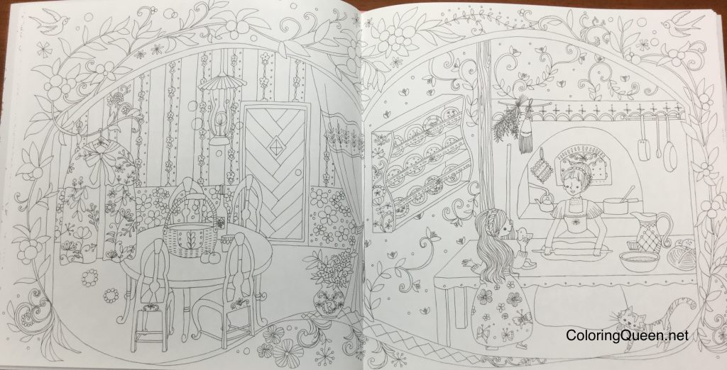 The Magical World of Grimm Fairy Tales - Coloring Book (グリム童話 ...