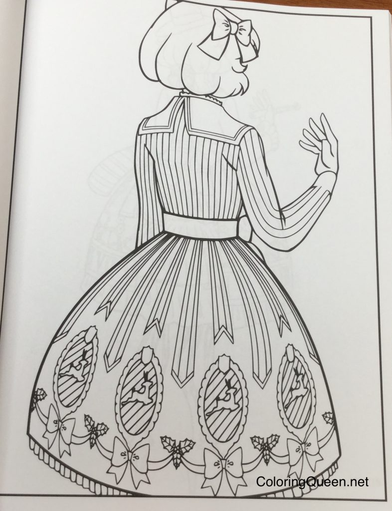lolita fashion coloring book for adults - Where To Buy Coloring Books For Adults