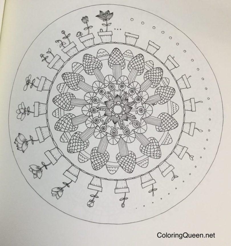 MinMandala 0437 962x1024 - Min Mandala En Malarbok (My Mandala Coloring Book)