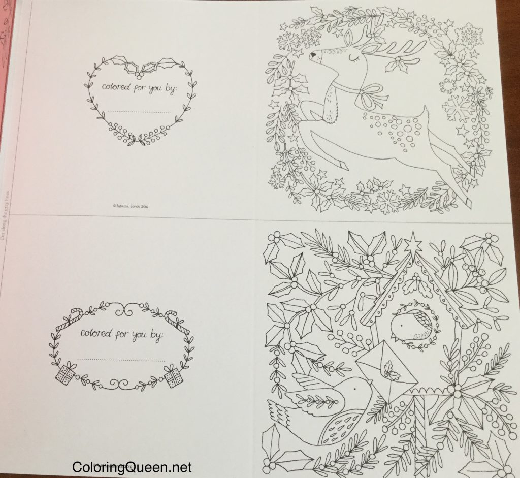 The Coloring Book of Cards & Envelopes - Christmas ...