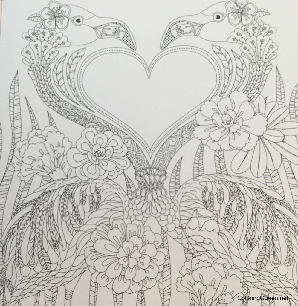Hidden Natures Frame Fantasia A Colouring Book To Keep Your