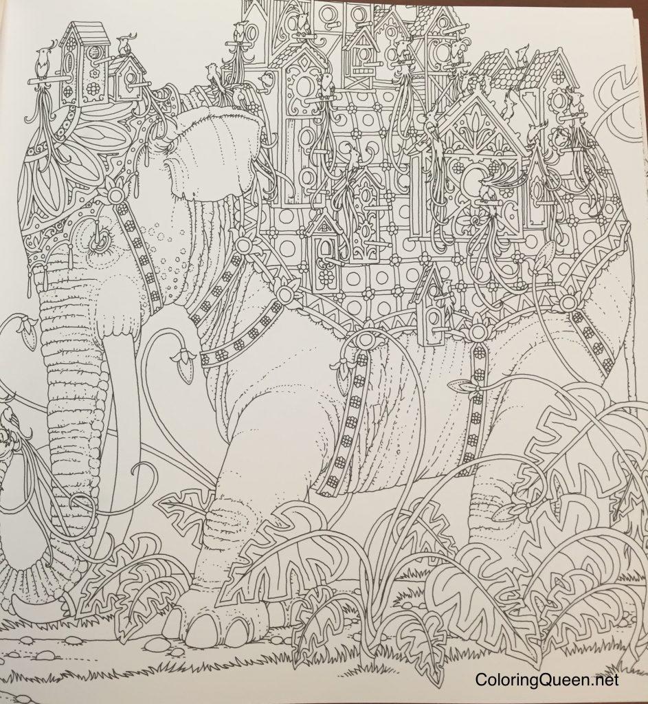 The coloring book analysis -  366057031 Zemlja Snova Dreamland Coloring Book Review