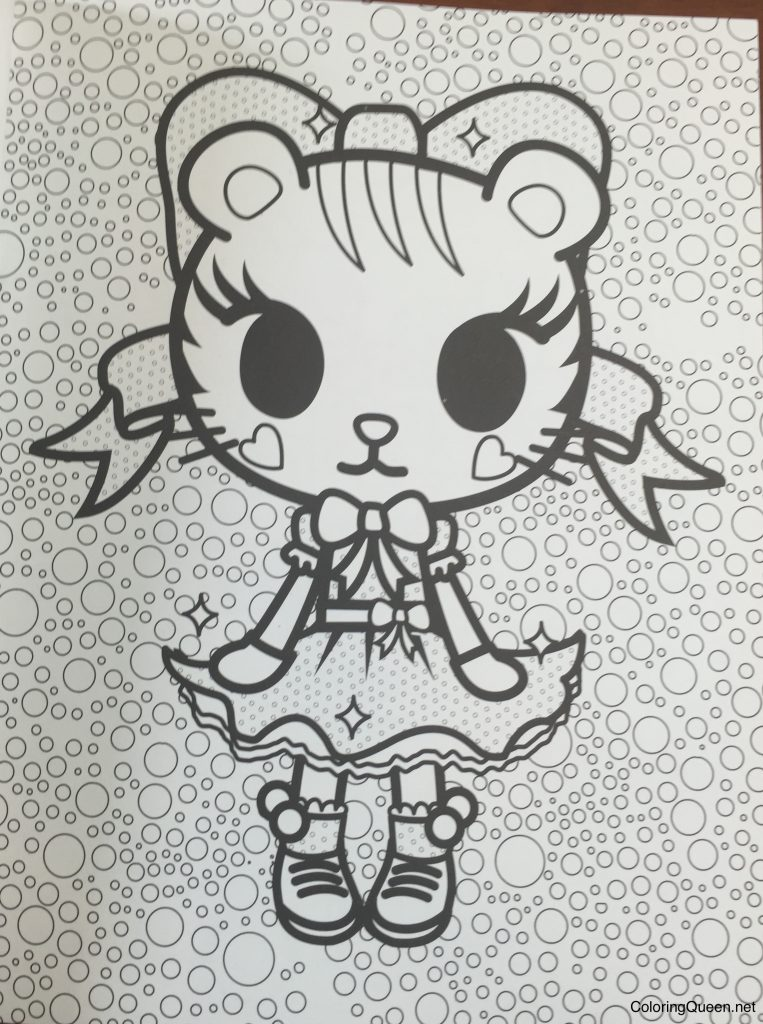 tokidoki coloring book  coloring queen