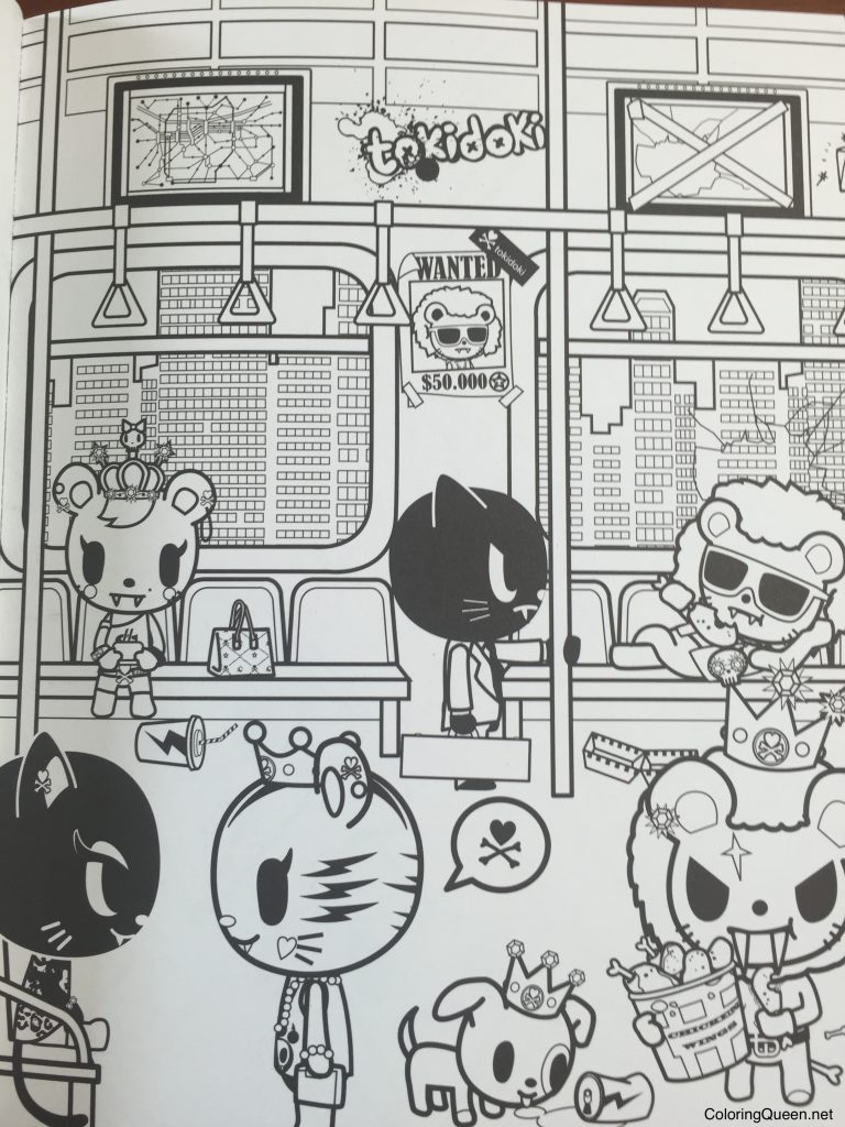 tokidoki donutella coloring pages virtren com