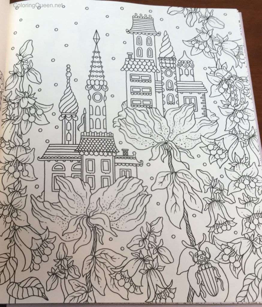Coloring book html5 - Please Click On The Image To See More Detail From The Magical Dawn Coloring Book By Hanna Karlzon