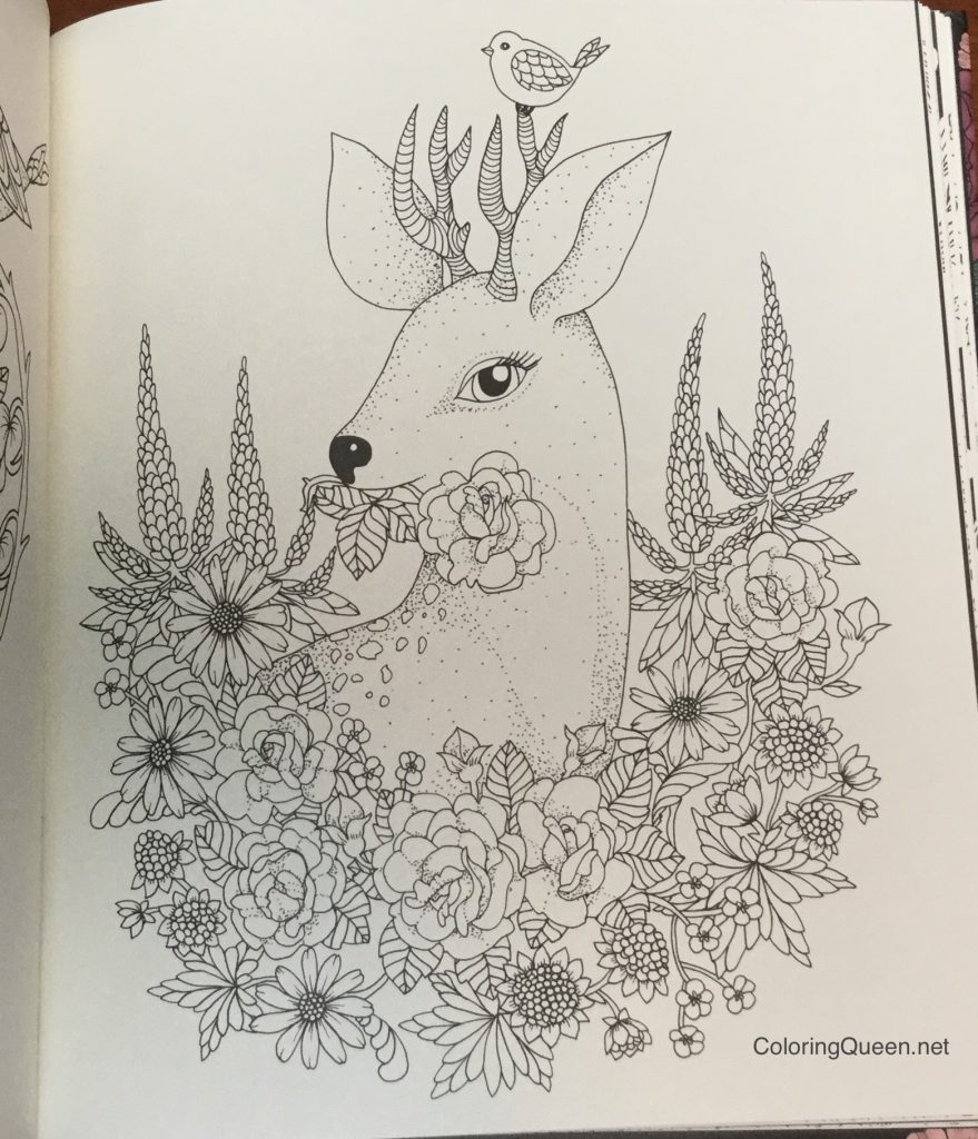 twilight garden coloring book aka blomster mandala coloring queen