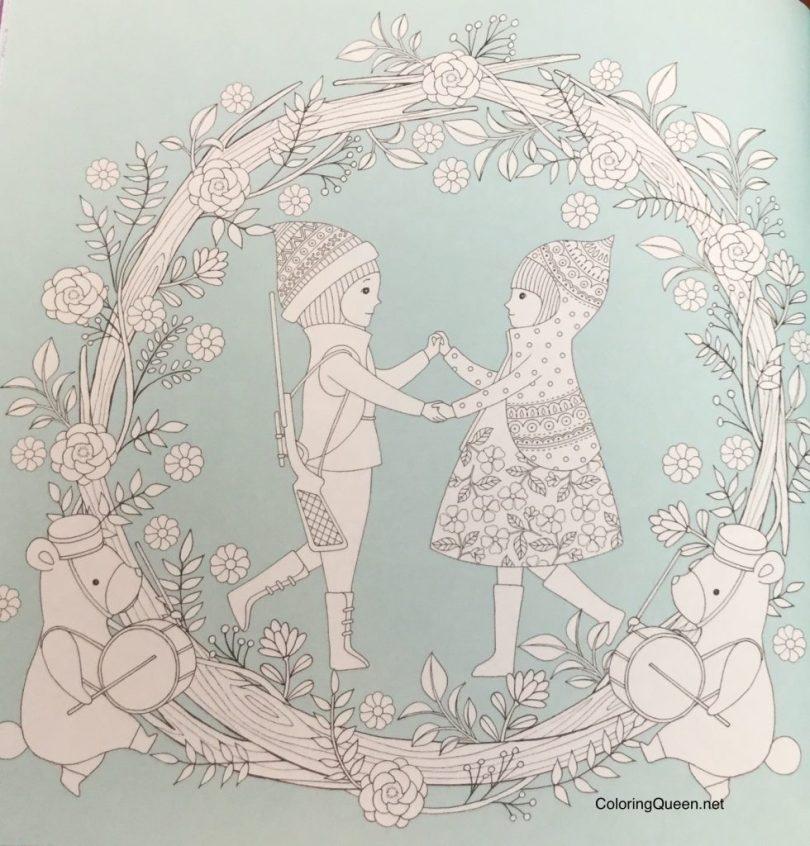 WonderlandJourneyColoringBookReview 15 981x1024 - Wonderland Journey Coloring Book
