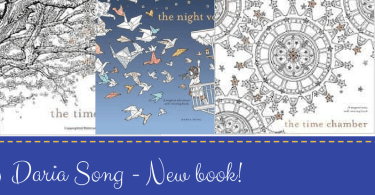 Daria Song New book - A New Coloring Book from Daria Song!