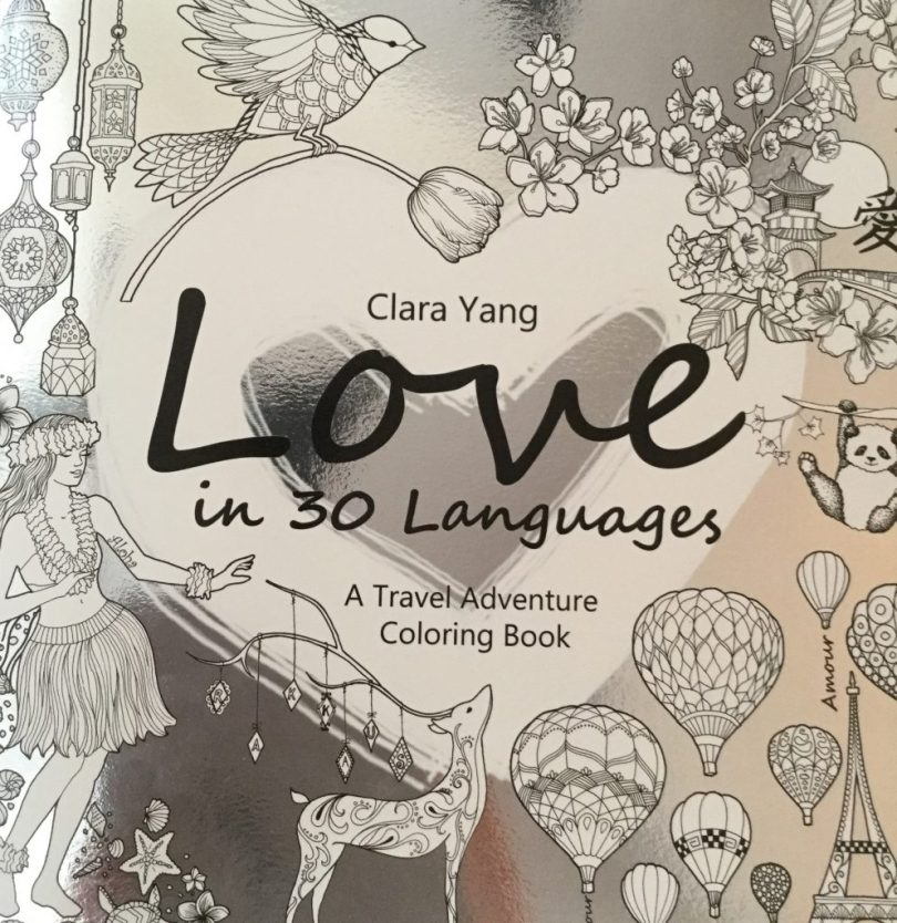 Love in 30 Languages - A Travel Adventure Coloring Book
