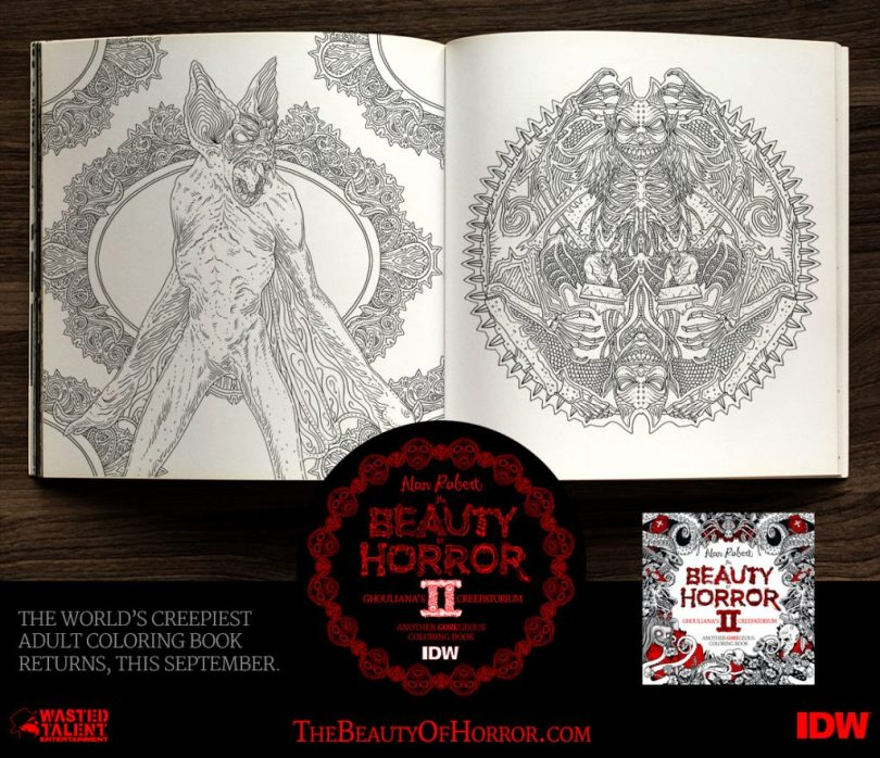 BOH2 Interior Examples C 1024x883 - Cover Reveal & Sneak Peek Inside The Beauty of Horror II by Alan Robert