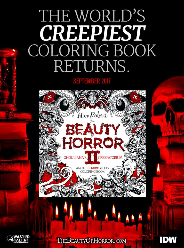 BOH2 BD Exclusive v1 759x1024 - Cover Reveal & Sneak Peek Inside The Beauty of Horror II by Alan Robert