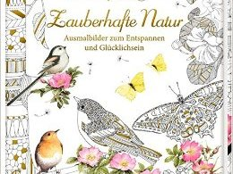 Zauberhafte Natur cover - Wonderland Coloring Book