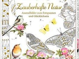 Zauberhafte Natur cover - Misfits Coloring Book Review - Volume 1