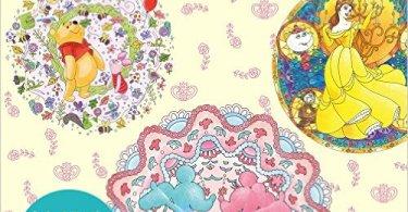 DisneyKaleidescopes - Manic Botanic Coloring Book