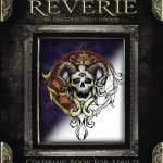 Dark Reverie Coloring Book Cover