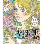 Alice 150th Birthday Coloring Book by Rick St Dennis Cover art