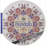100 Nieuwe Creaties Mandala coloring book cover