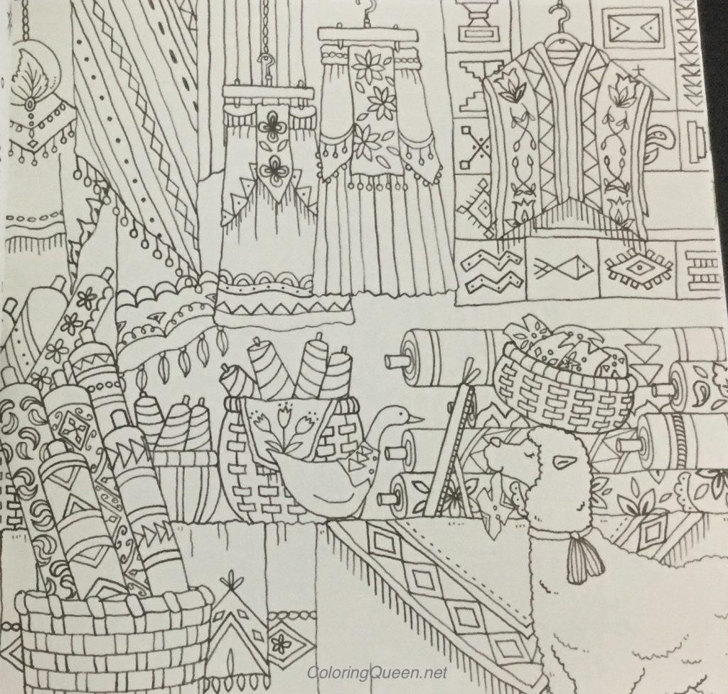 Sophias Coloring Book Image