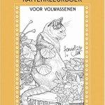 Franciens kattenkleurboek voor volwassenen cover