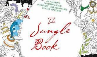 thejunglebook - Beauty and the Beast Coloring Book Review