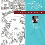 American Folk Art Coloring Book Gayle Barff1 - Cats & Dogs In Style - Coloring Book Review