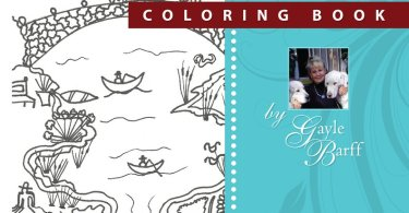 American Folk Art Coloring Book Gayle Barff1 - Colors Make You Happy Vol 1 - Coloring Book Review