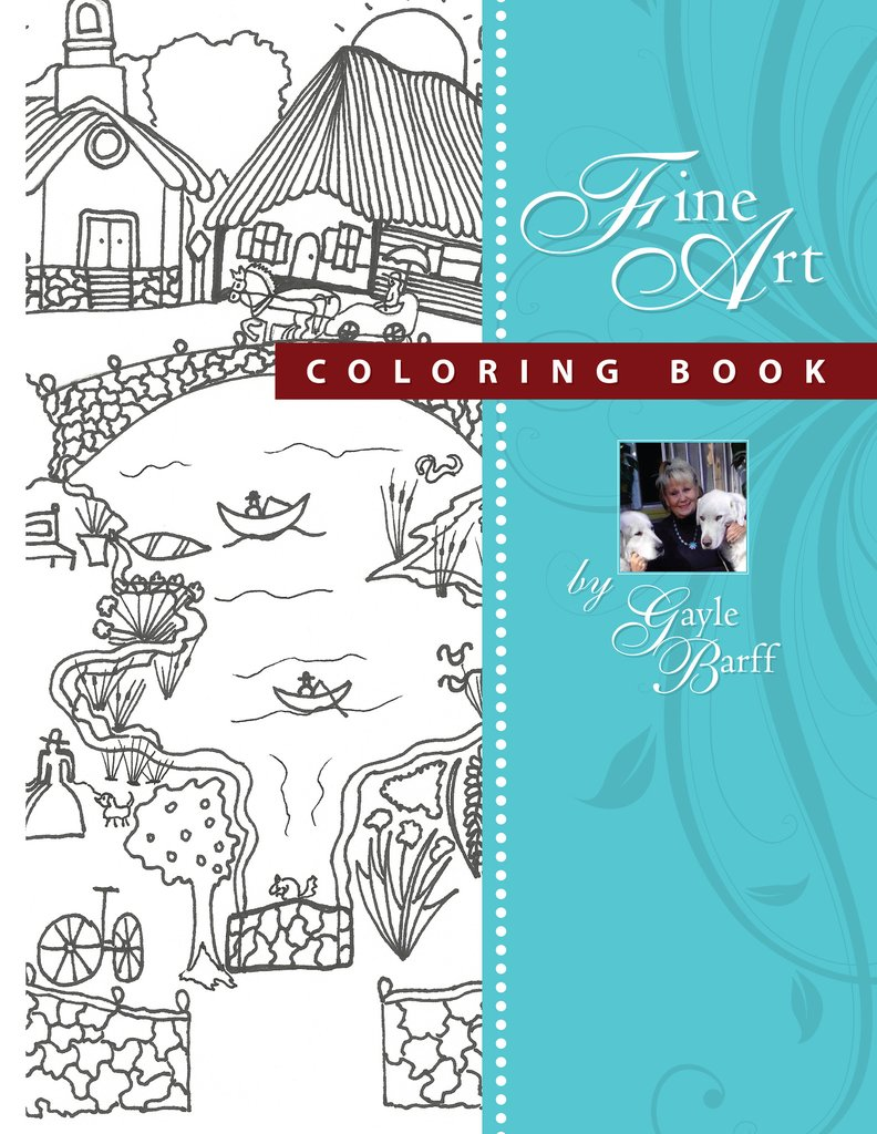 American Folk Art Coloring Book