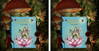 New coloring book from Klara Markova Tenderful Enchantments in Czech and English editions
