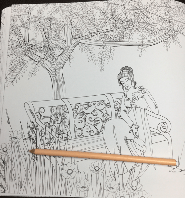 pride and prejudice coloring book 16 - Pride and Prejudice Coloring Book Review