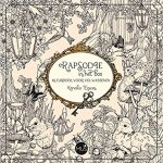 See Rapsodie in het bos kleurtboek which is the Dutch edition of the Japanese coloring book, Rhapsody in the Forest