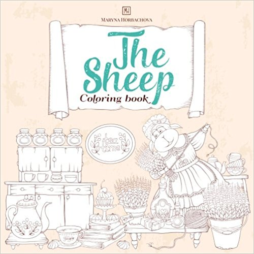 The Sheep Coloring Book