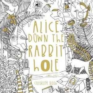 Alice Down the Rabbit Hole Coloring Book Review