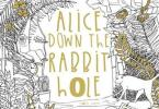 alice down the rabbit hole - Alice Down the Rabbit Hole Coloring Book Review