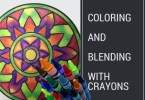 coloringandblending - Coloring and Blending with Crayons